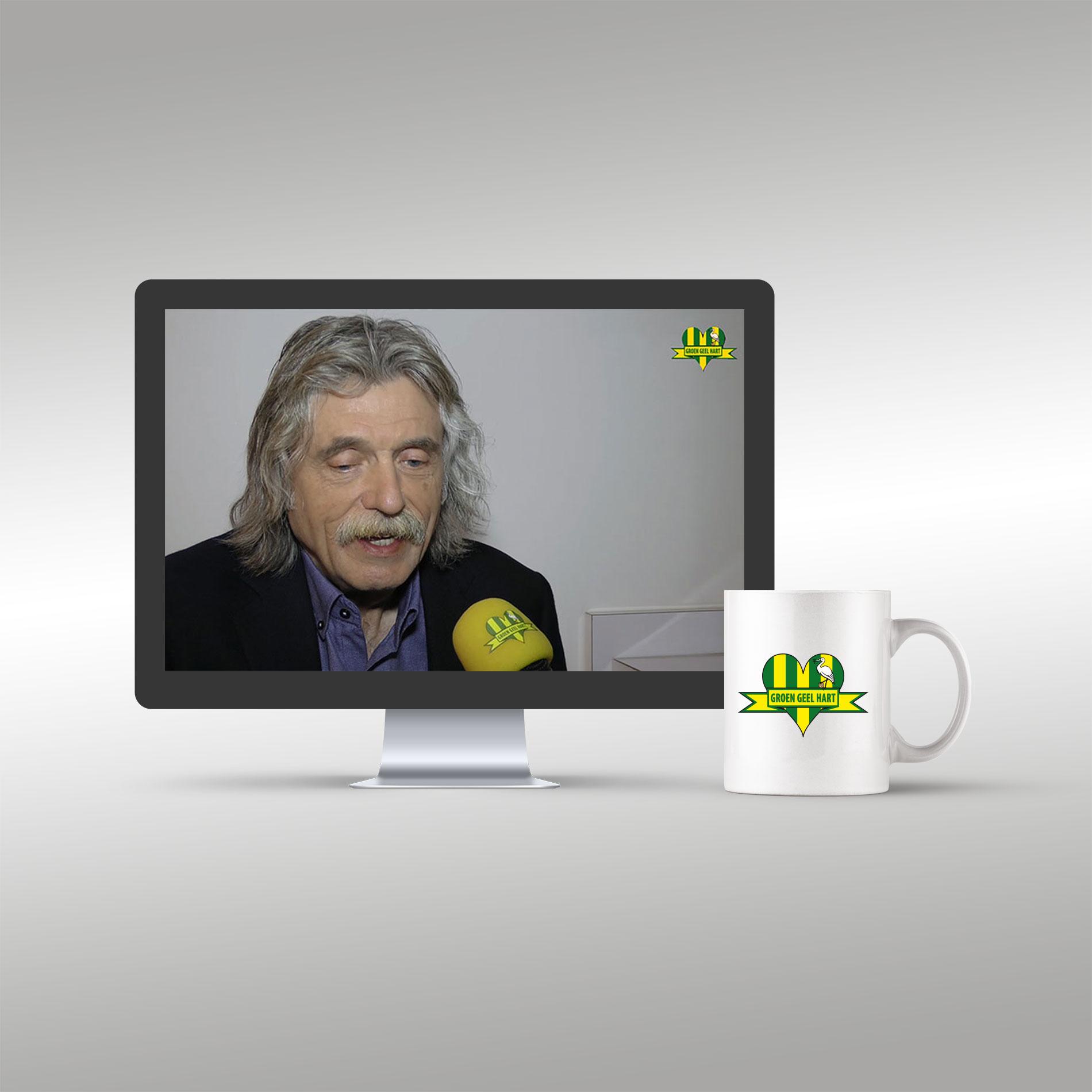 Groen Geel Hart TV: Interview met Johan Derksen